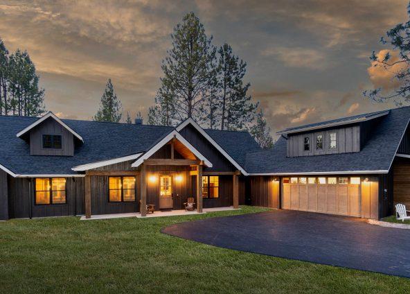 mt bachelor custom home